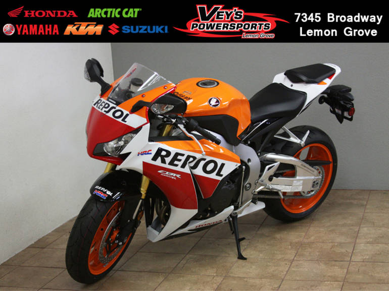 2015 Honda Cbr 1000rr Repsol Edition Motorcycle From El Cajon Ca