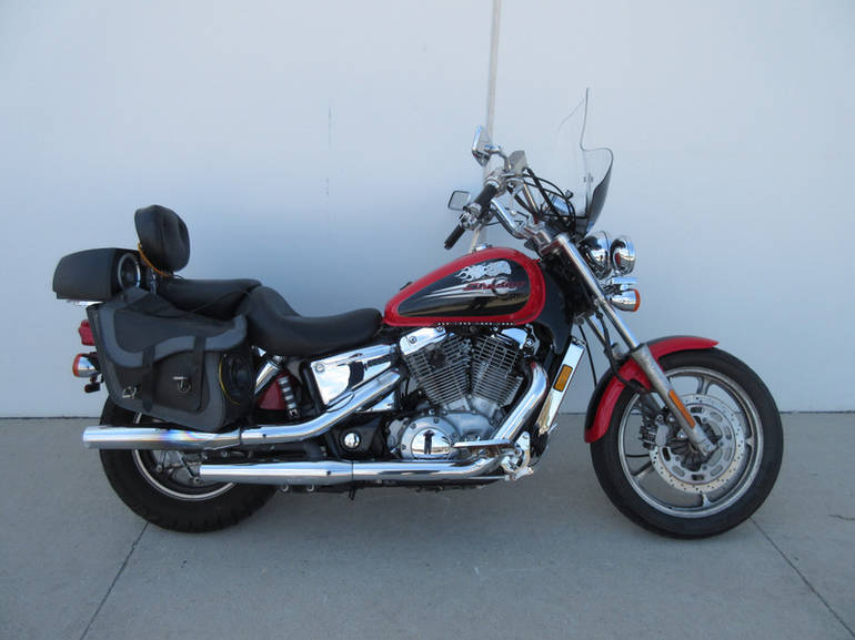 2000 Honda Vt 1100 Shadow Spirit Motorcycle From Milwaukee Witoday