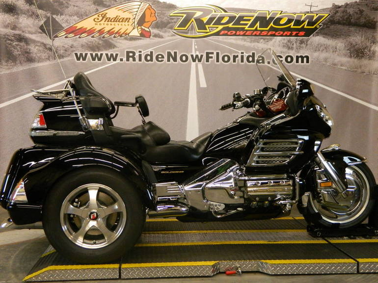 2002 Honda Goldwing Trike Motorcycle From Ocala, FL,Today