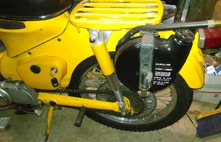 "Car Auctions Ny >> 1965 Honda Ct 200 ""TRAIL 90"" 200 ""TRAIL 90"" Motorcycle ..."