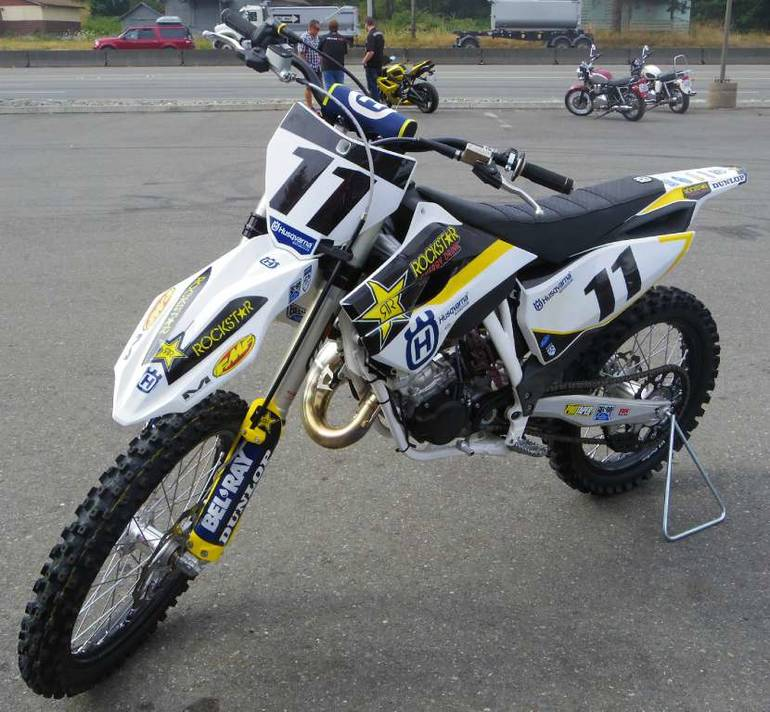 See more photos for this Husqvarna TC 125, 2015 motorcycle listing