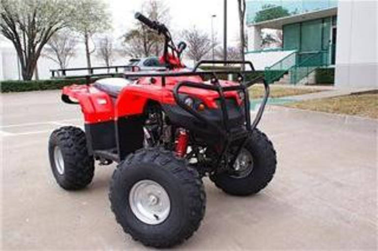 See more photos for this Ice Bear 125cc Bullseye Utility 4 Stroke Semi Auto ATV, 2012 motorcycle listing