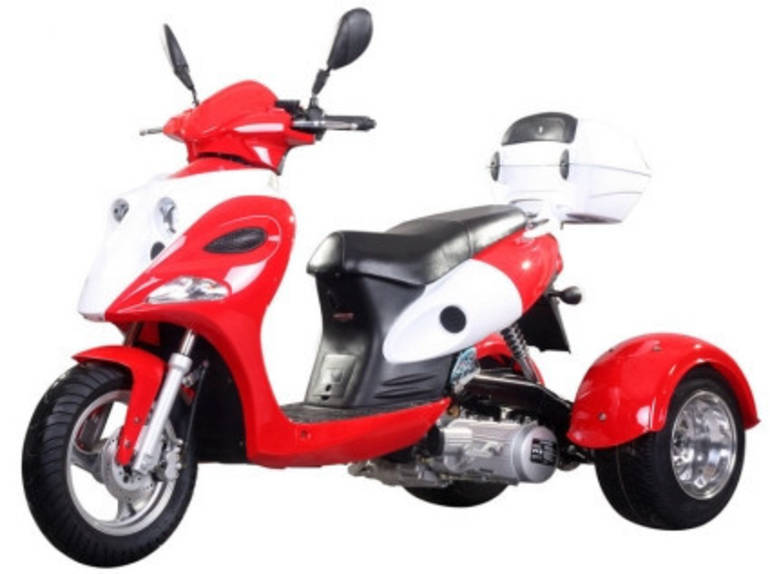 See more photos for this Ice Bear 150cc Argalis Air Cooled 4 Stroke Trike Moped Scooter, 2012 motorcycle listing