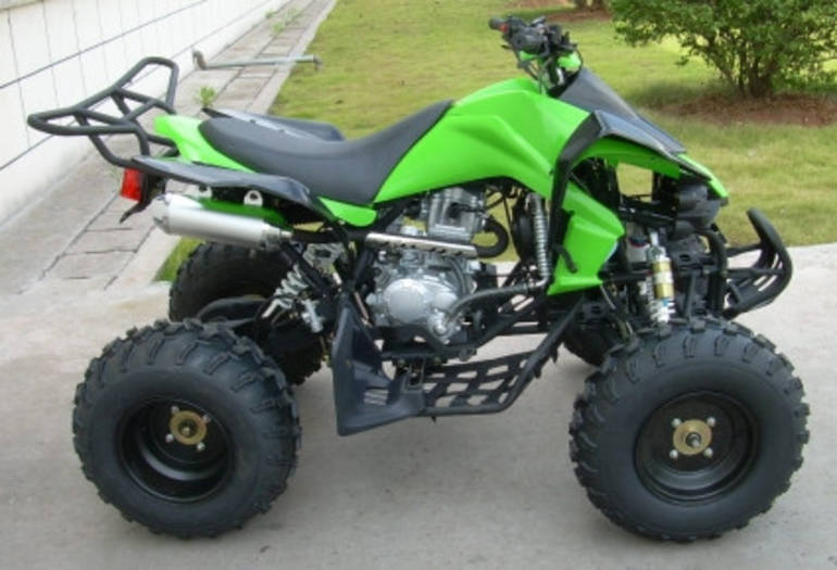 See more photos for this Ice Bear 250cc Grim Reaper Four Stroke ATV, 2012 motorcycle listing