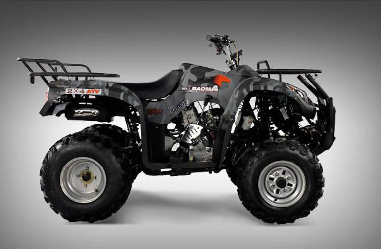 Used Honda Four Wheelers For Sale >> 2012 Ice Bear 250cc Utility Monster Hummer (Fully ...
