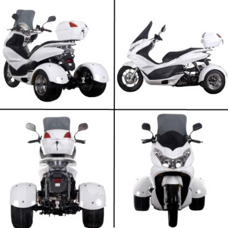 See more photos for this Ice Bear 50cc Air Cooled 4 Stroke Q6 Trike Moped Scooter, 2012 motorcycle listing