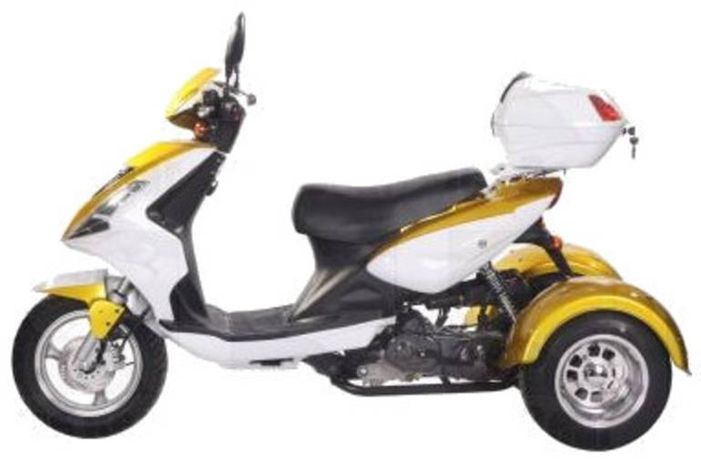 See more photos for this Ice Bear 50cc Mojo Trike Scooter Moped, 2012 motorcycle listing