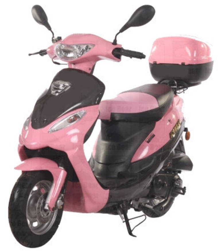 See more photos for this Ice Bear 50cc Pink Panther Maui Moped, Only 6 Left!!, 2012 motorcycle listing