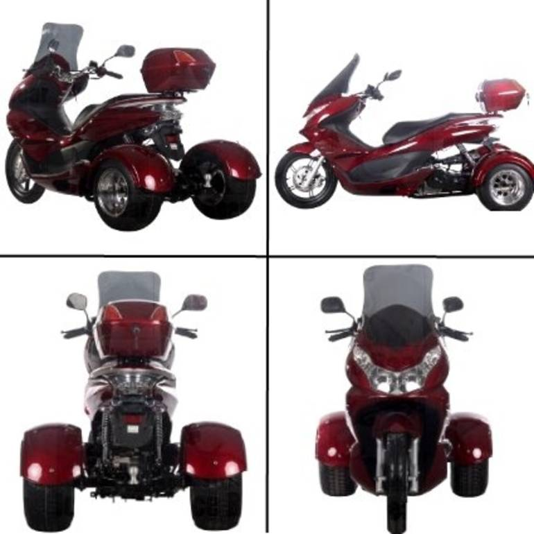 See more photos for this Ice Bear 50cc Air Cooled 4 Stroke Q6 Trike Moped Scooter, 2014 motorcycle listing