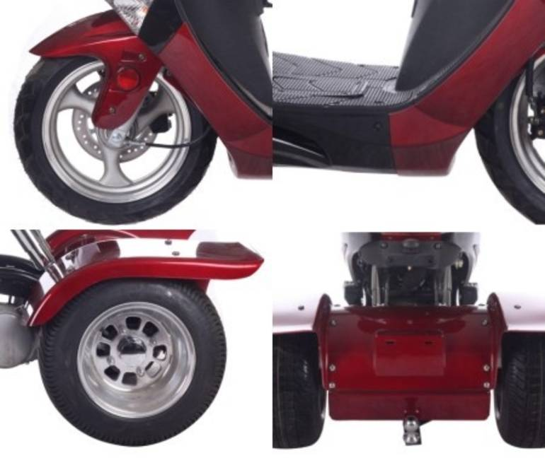 See more photos for this Ice Bear Brand New 150cc Hawk Air Cooled 4 Stroke Moped Trike Sc, 2014 motorcycle listing