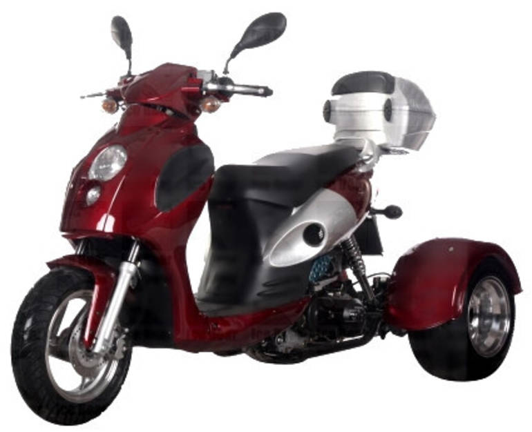 See more photos for this Ice Bearer 50cc 4 Stroke Bullseye Trike Moped Scooter ON SALE, 2014 motorcycle listing