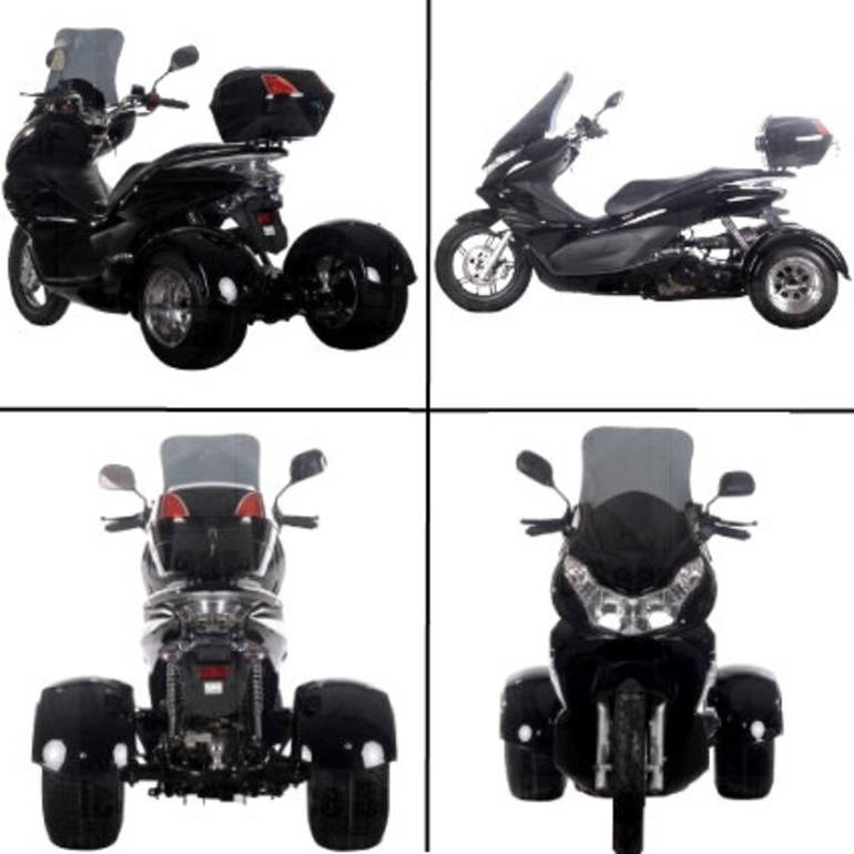 See more photos for this Ice Bearer 50cc Air Cooled 4 Stroke Q6 Trike Moped Scooter ON SALE, 2014 motorcycle listing