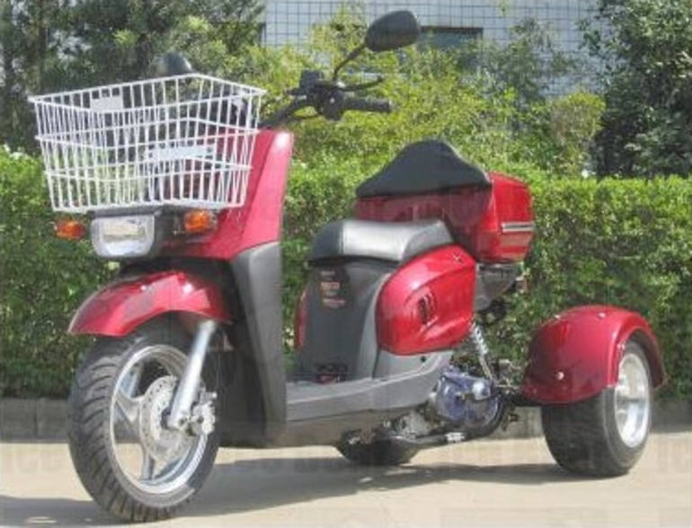 See more photos for this Ice Bearer 50cc Starfire 3 Wheeled Scooter Moped by SaferWholesale, 2014 motorcycle listing