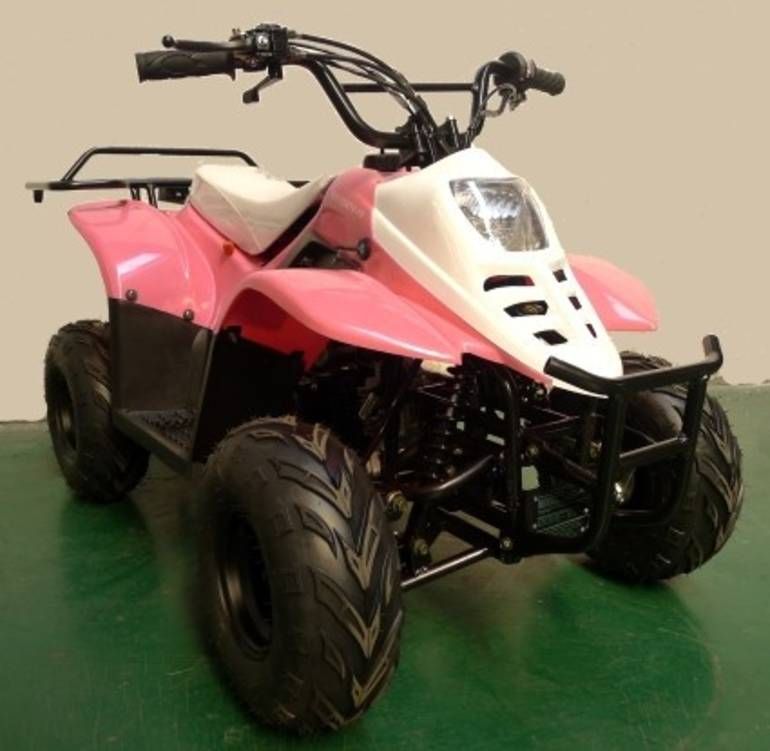 See more photos for this Ice Bear 110cc Spider SE Pink Limited Edition ATV, 2015 motorcycle listing