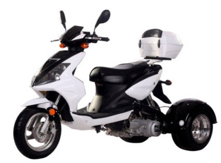 See more photos for this Ice Bear 150cc Gemsbok Air Cooled 4 Stroke Trike Moped Scooter, 2015 motorcycle listing
