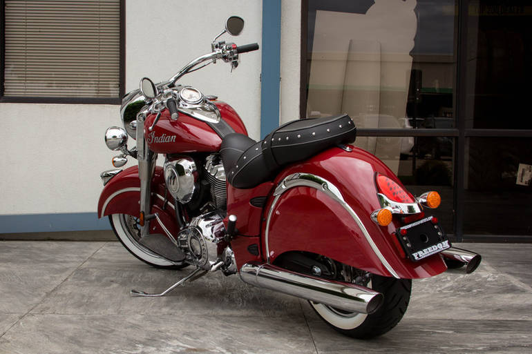 See more photos for this Indian Chief Classic Indian Red, 2015 motorcycle listing