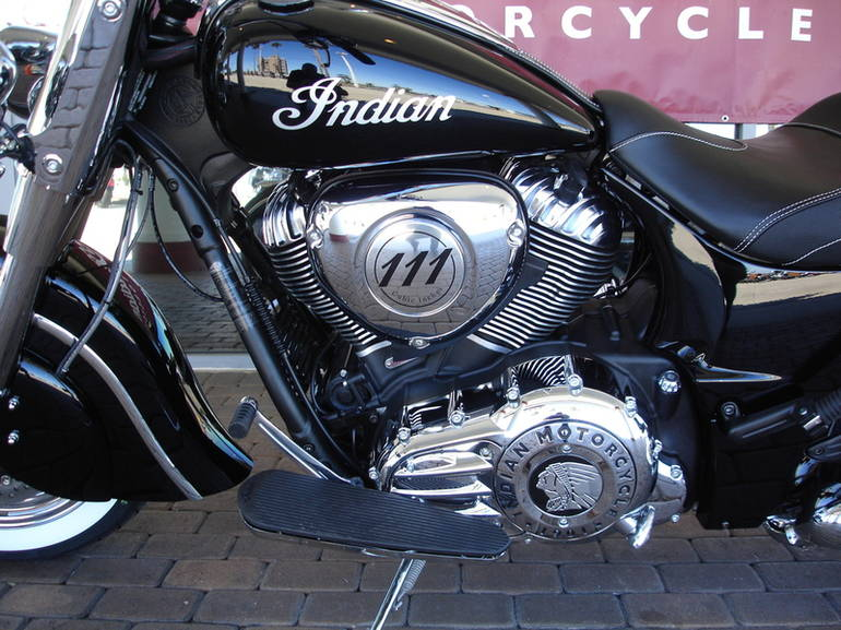 See more photos for this Indian Chief Classic Thunder Black, 2015 motorcycle listing