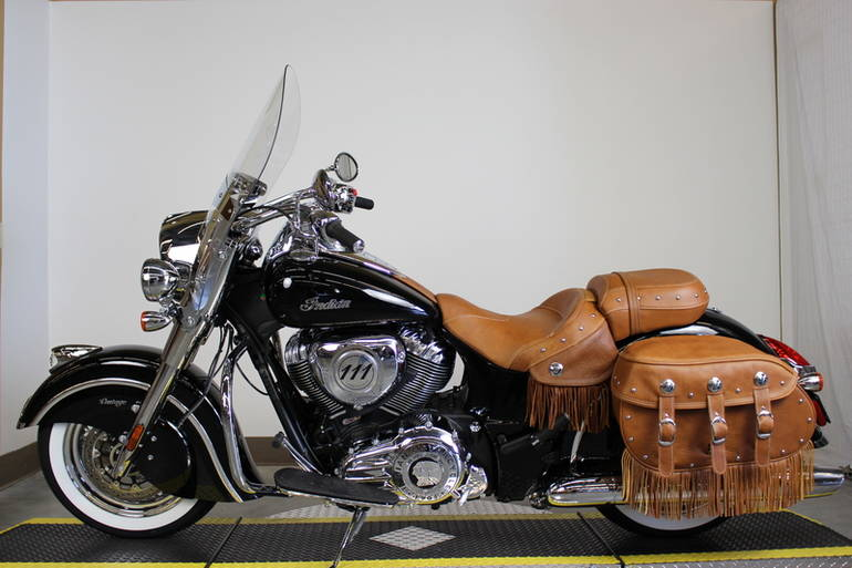 2015 Indian Chief Vintage Thunder Black Motorcycle From