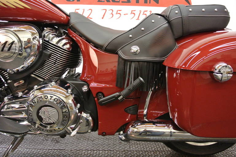 See more photos for this Indian Chieftain Indian Red, 2015 motorcycle listing