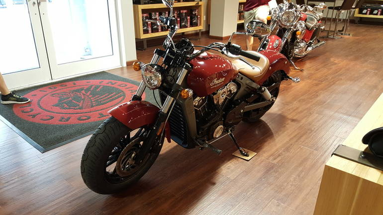 See more photos for this Indian Scout Indian Red, 2015 motorcycle listing