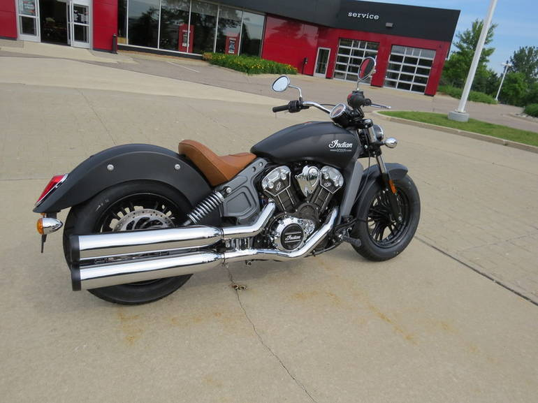 2015 indian scout thunder black smoke motorcycle from bloomfield hills mi today sale 11 299. Black Bedroom Furniture Sets. Home Design Ideas