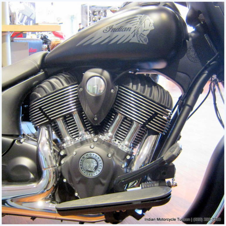 See more photos for this Indian Chief Dark Horse, 2016 motorcycle listing