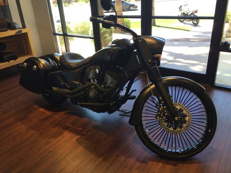2016 indian chief dark horse motorcycle from chandler az today sale 39 999. Black Bedroom Furniture Sets. Home Design Ideas