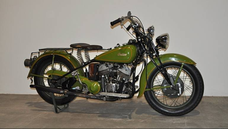 1942 indian sport scout motorcycle from peninsula oh for Ebay motors indian motorcycles