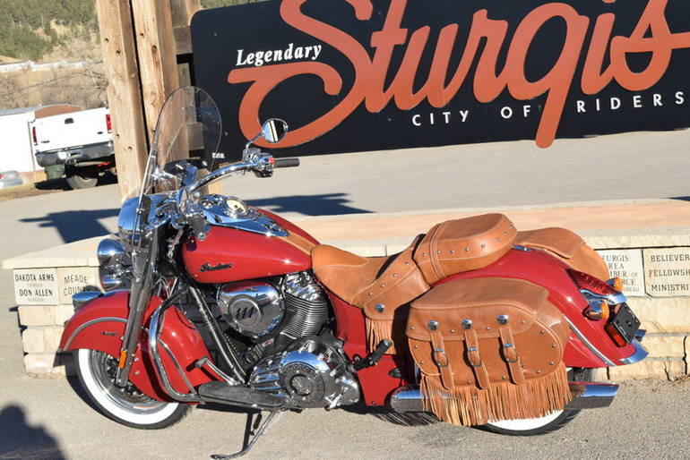 See more photos for this Indian Chief Vintage Indian Motorcycle Red, 2014 motorcycle listing