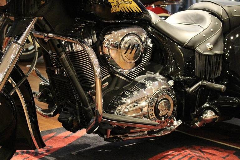 See more photos for this Indian Chieftain Hannigan Trike, 2014 motorcycle listing