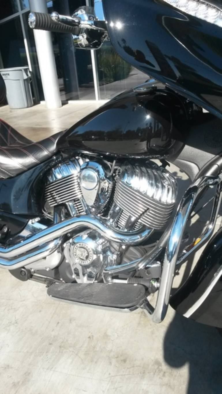 See more photos for this Indian Chieftain Thunder Black, 2014 motorcycle listing