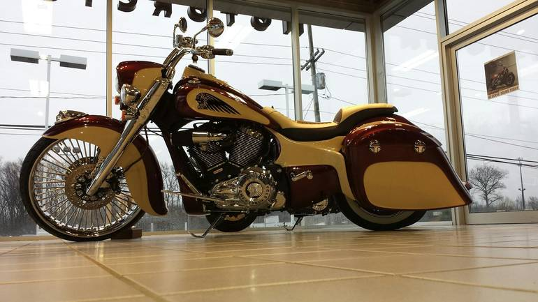 See more photos for this Indian VINTAGE DEMO, 2014 motorcycle listing
