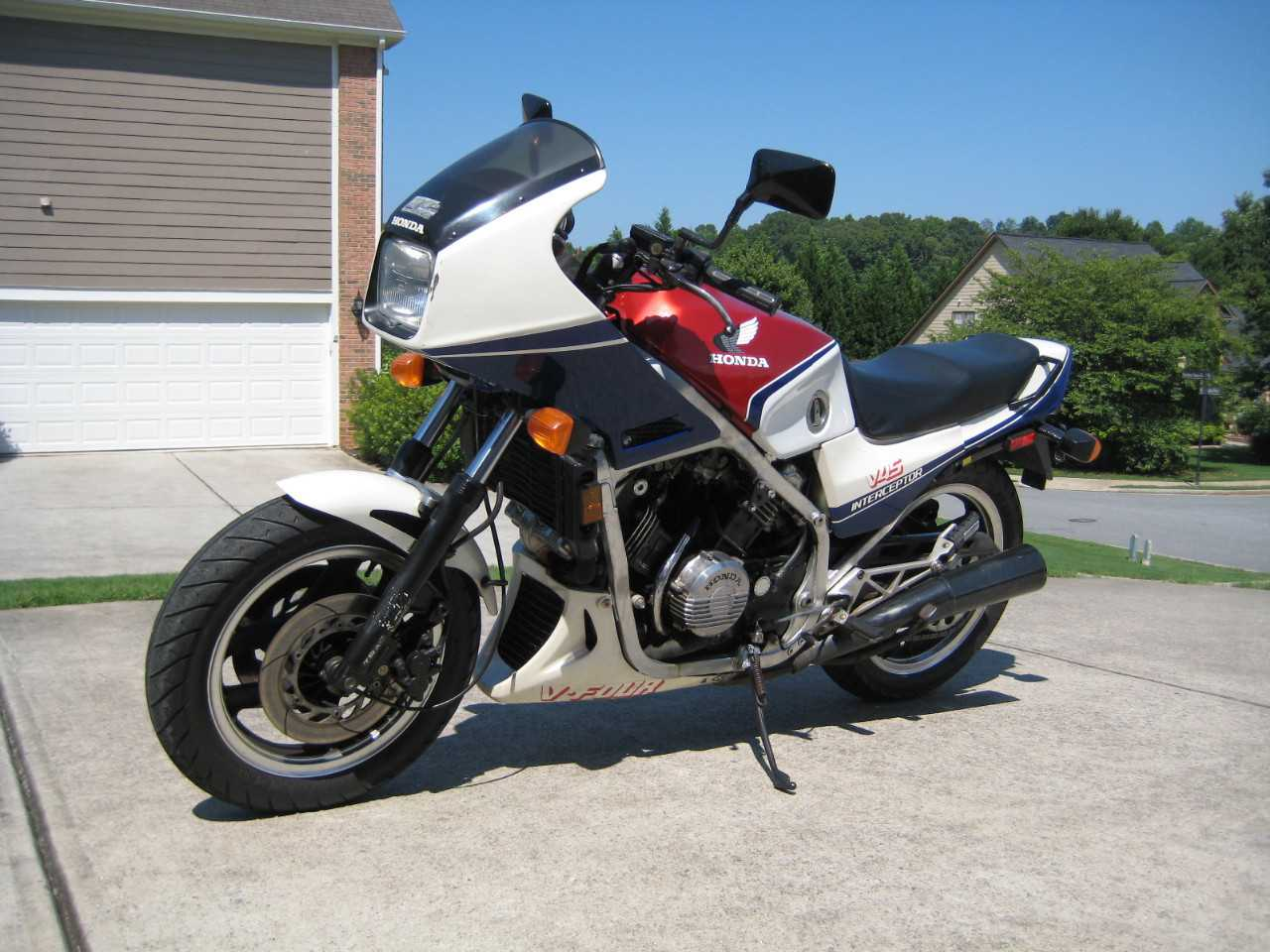 1983 Honda Interceptor VFR750, motorcycle listing