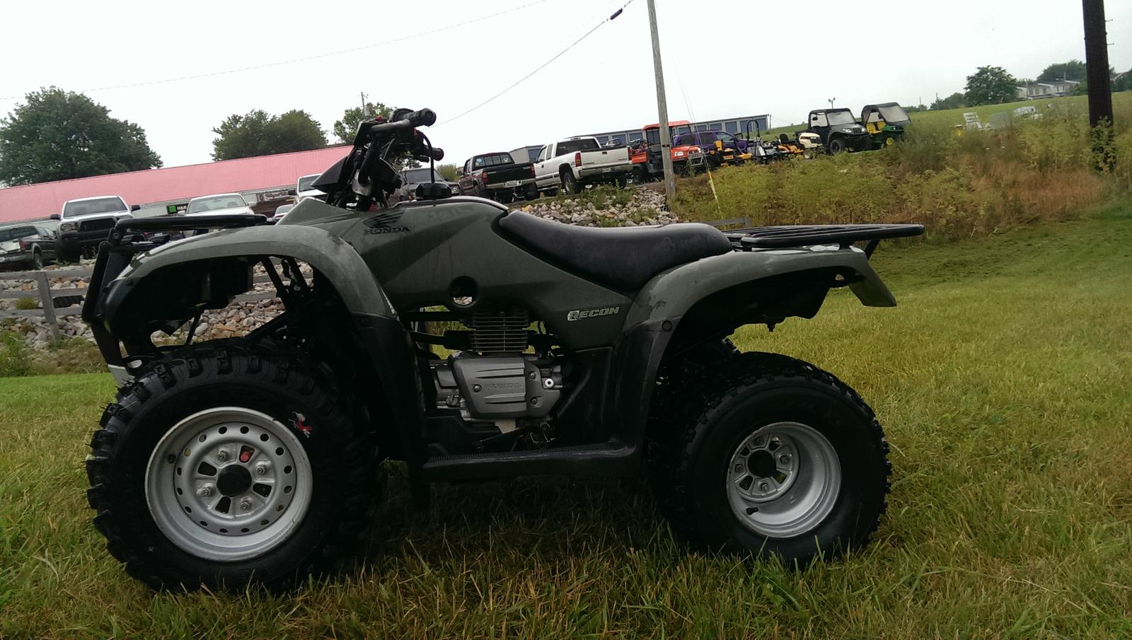 2007 Honda RECON 250 119915 on used harley engines