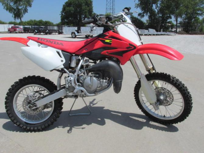 2003 Honda CR85, motorcycle listing