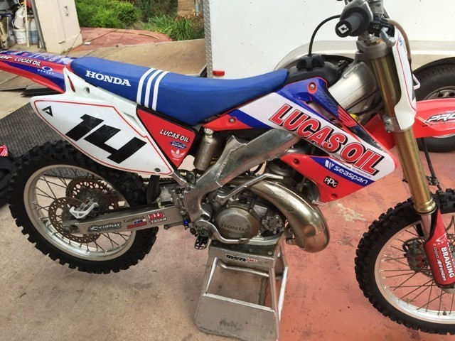 2003 Honda Cr Series 250R, motorcycle listing