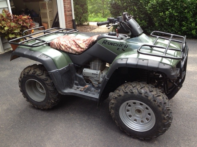 2003 Honda Fourtrax Rancher 4X4 ES, motorcycle listing