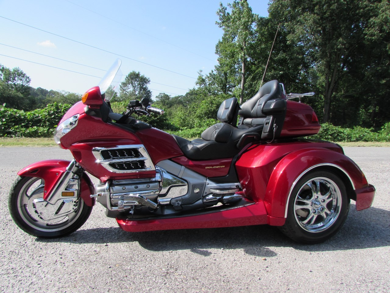 2003 Honda GOLDWING GL1800 ROADMSMITH HTS , motorcycle listing