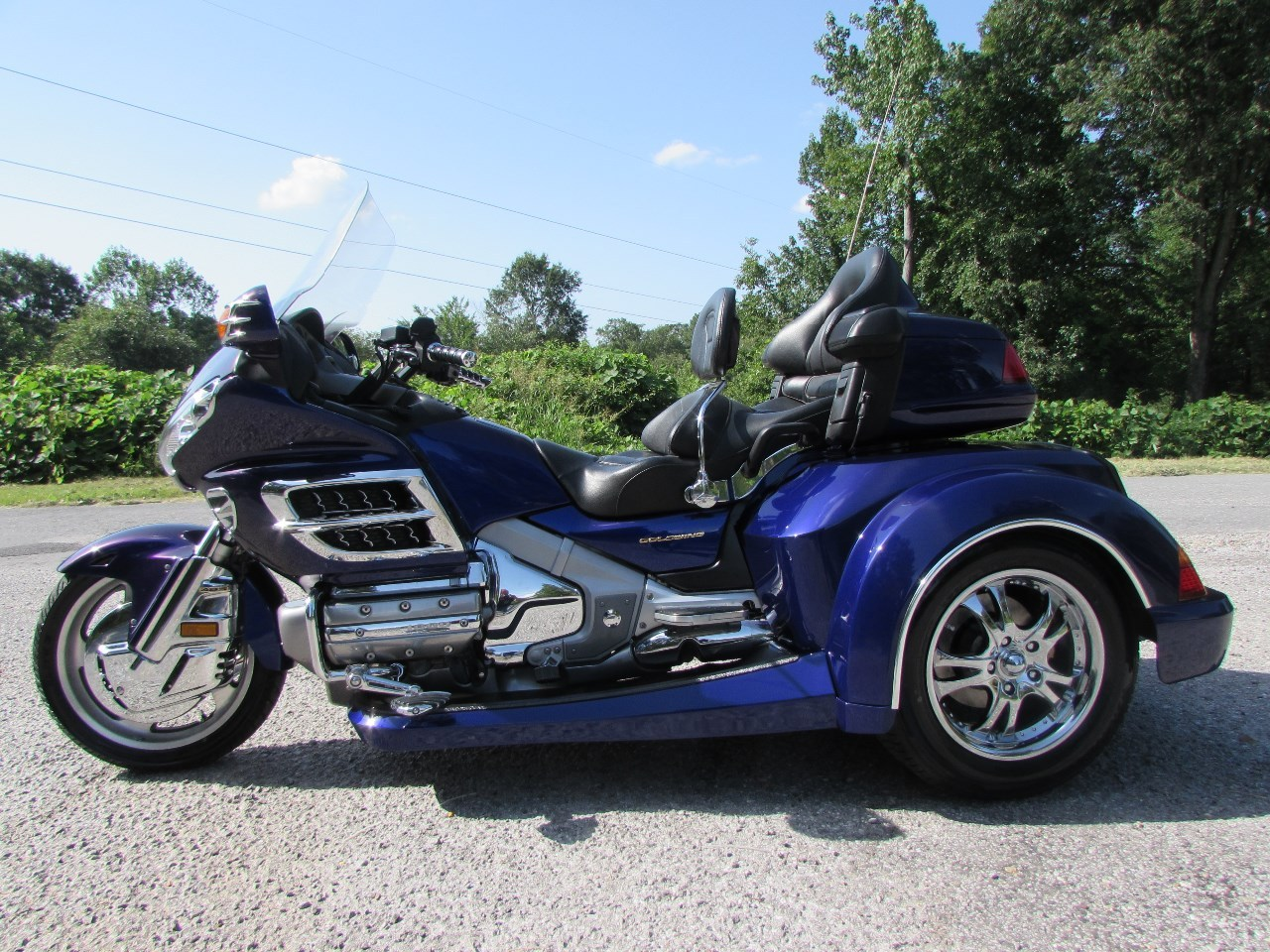 2003 Honda GOLDWING GL1800 ROADSMITH HTS , motorcycle listing