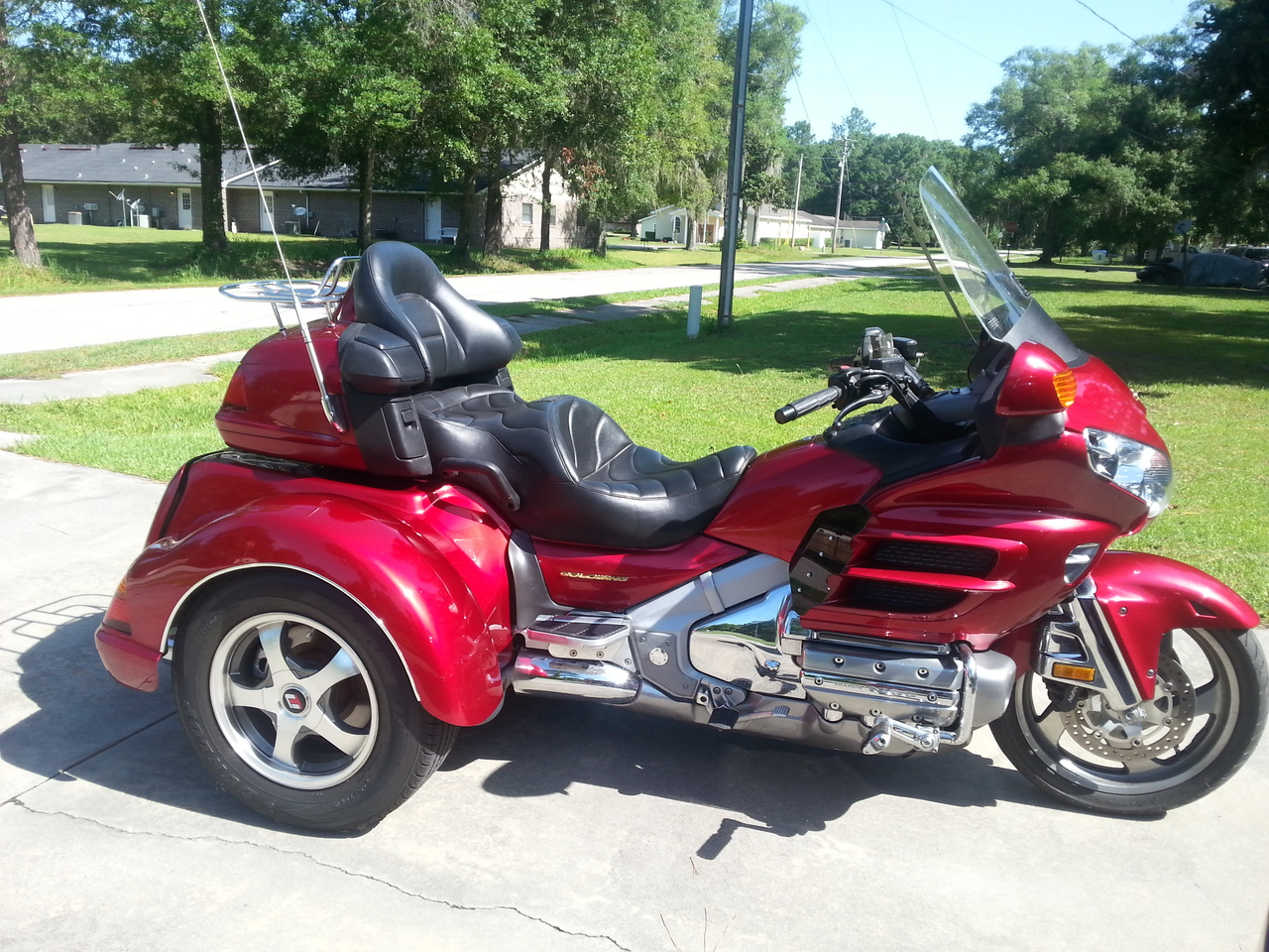 2003 Honda Gold Wing 1800, motorcycle listing