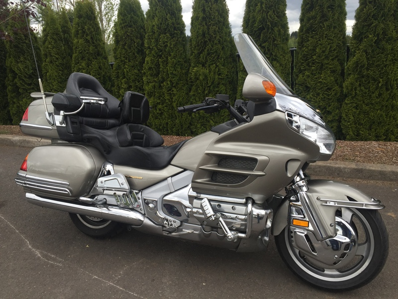 2003 Honda GoldWing, motorcycle listing