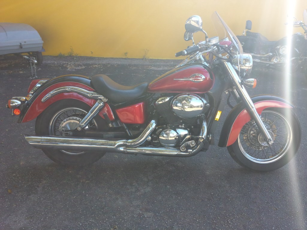 2003 Honda SHADOW ACE, motorcycle listing