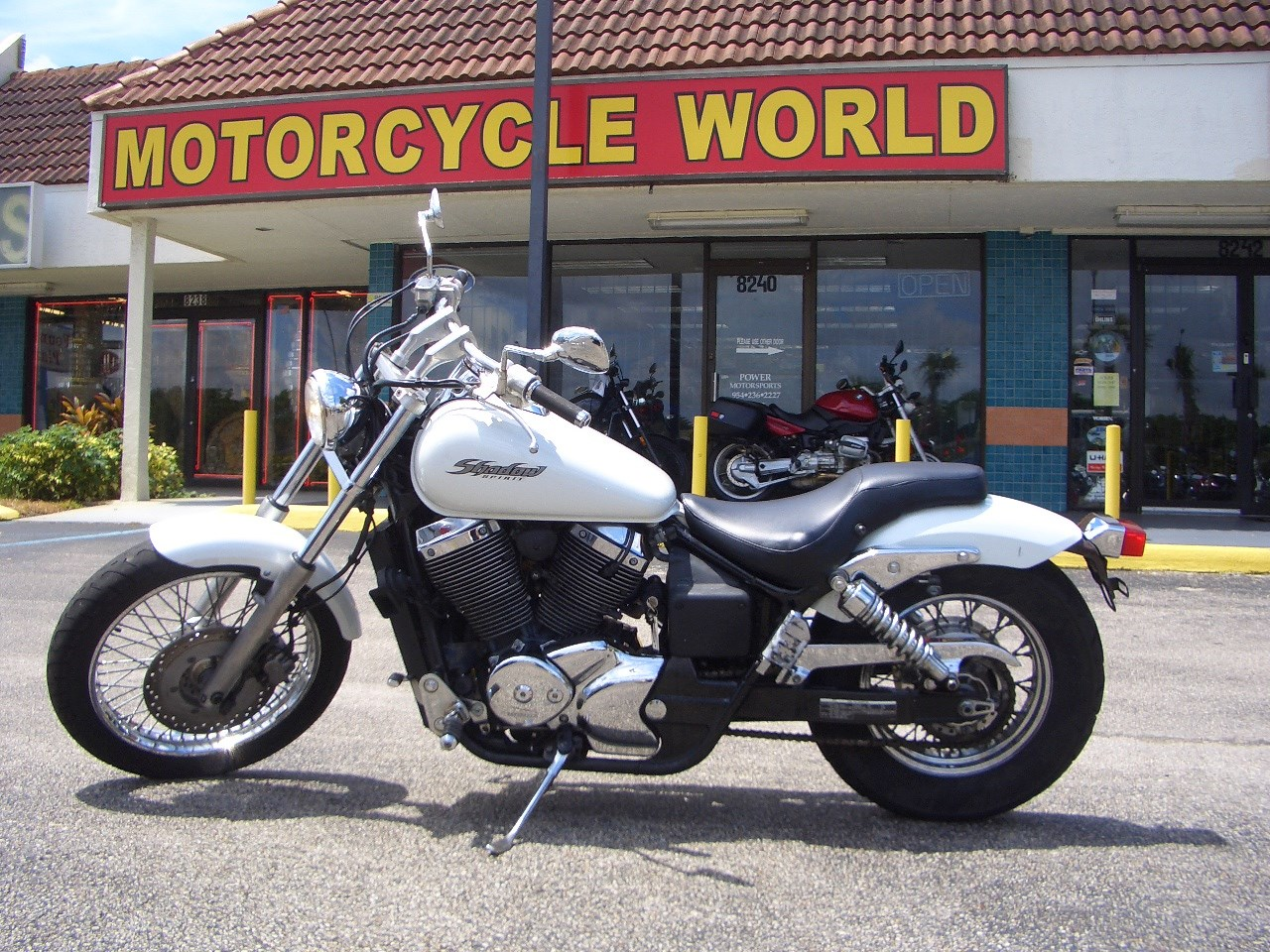 2003 Honda Shadow Spirit 750, motorcycle listing