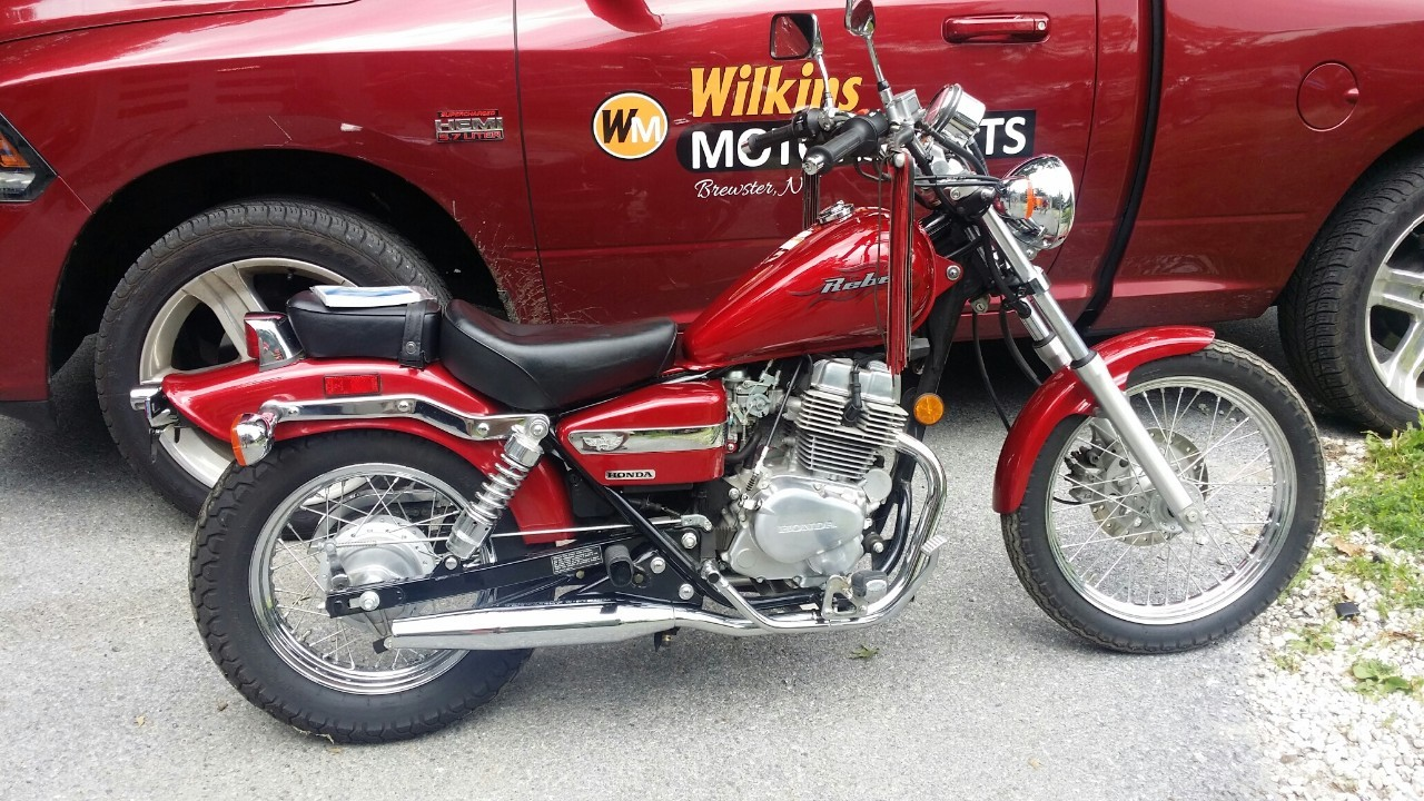 2004 Honda CMX 250 REBEL, motorcycle listing