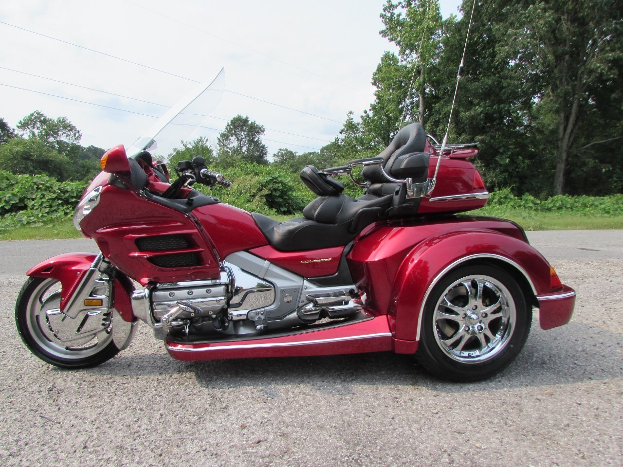 2004 Honda GOLDWING GL1800 ROADSMITH HTS , motorcycle listing