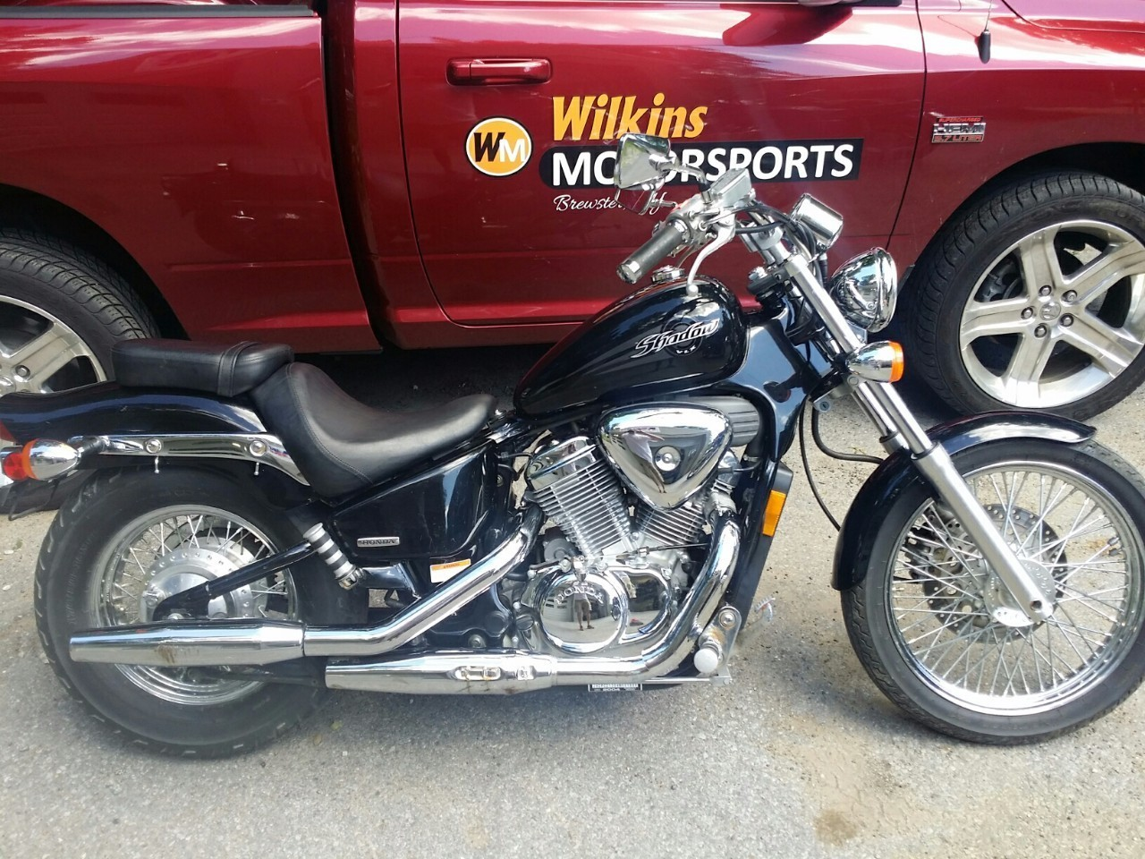 2004 Honda SHADOW VLX 600 DELUXE VLX600, motorcycle listing
