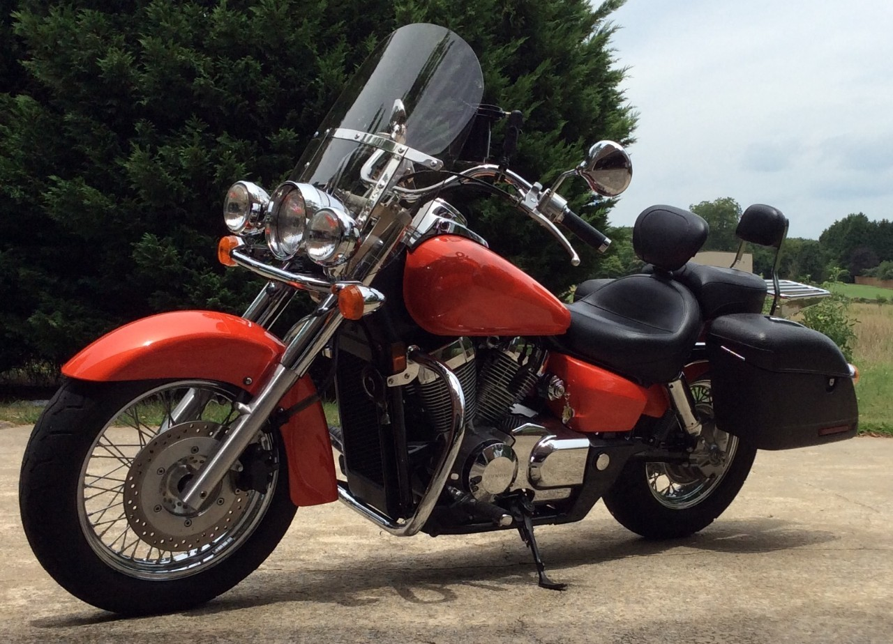 2004 Honda Shadow AERO, motorcycle listing