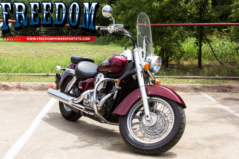2004 Honda Shadow Spirit, motorcycle listing