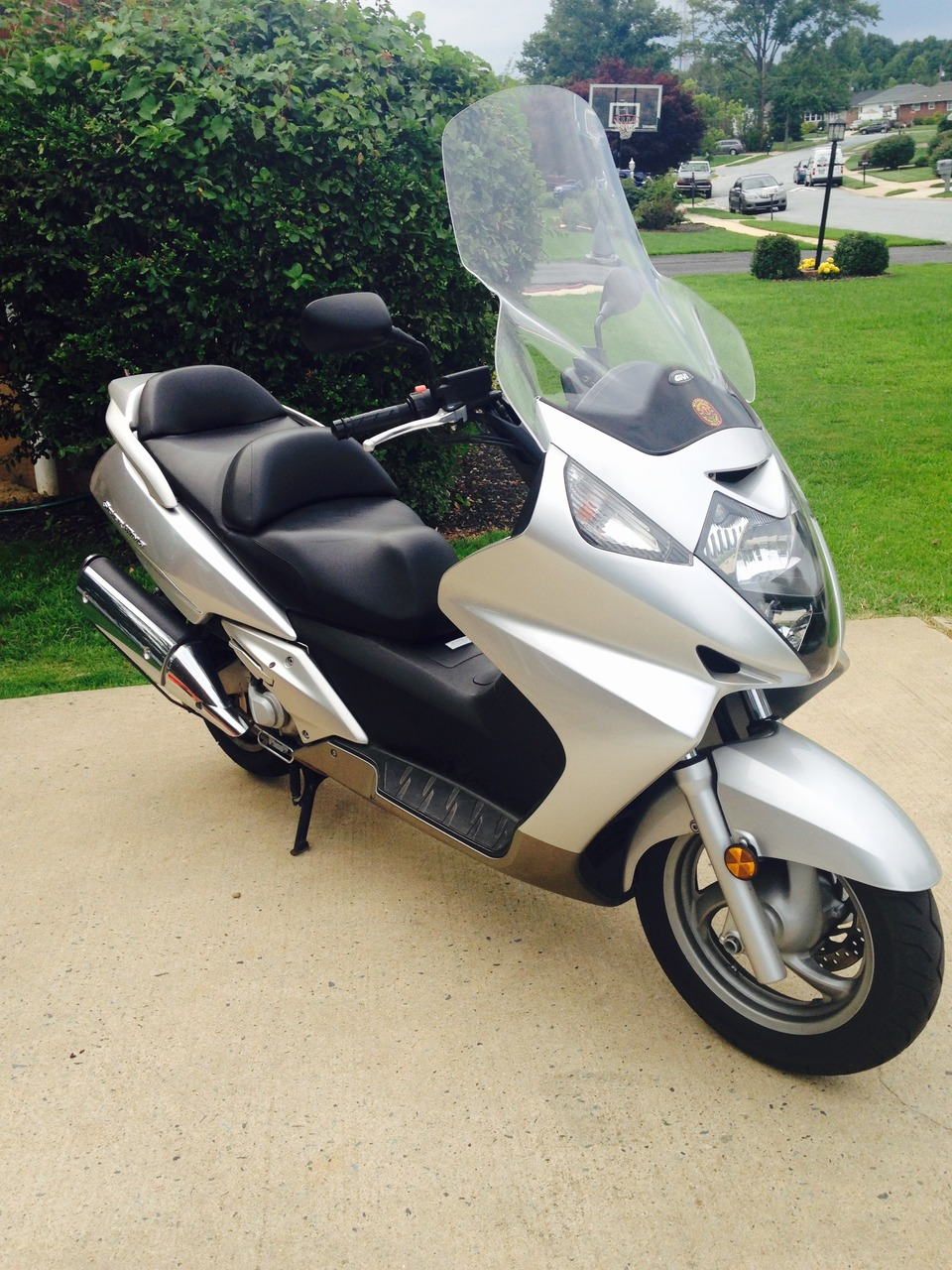 2004 Honda Silver Wing FSC600, motorcycle listing