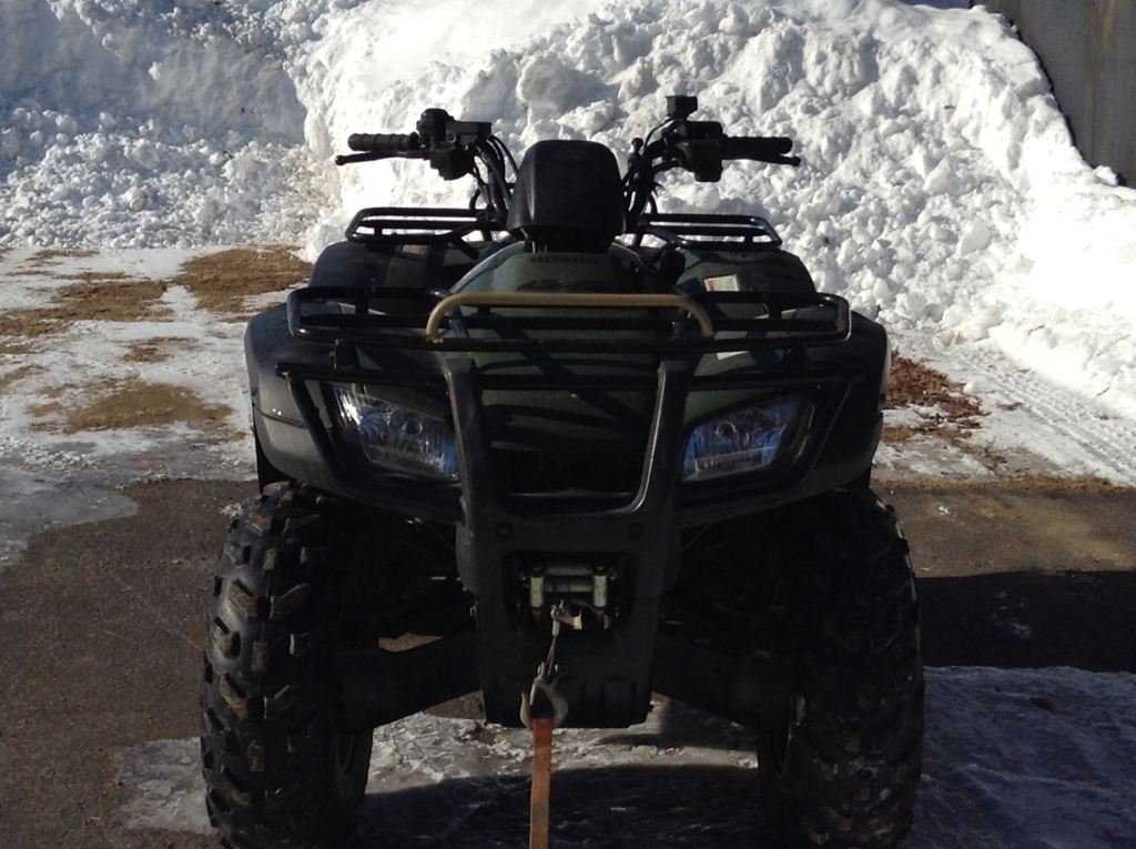 2005 Honda FourTrax Rancher AT (TRX400FA), motorcycle listing